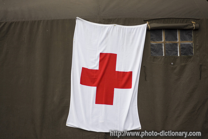 red crosses. Red Cross - photo/picture