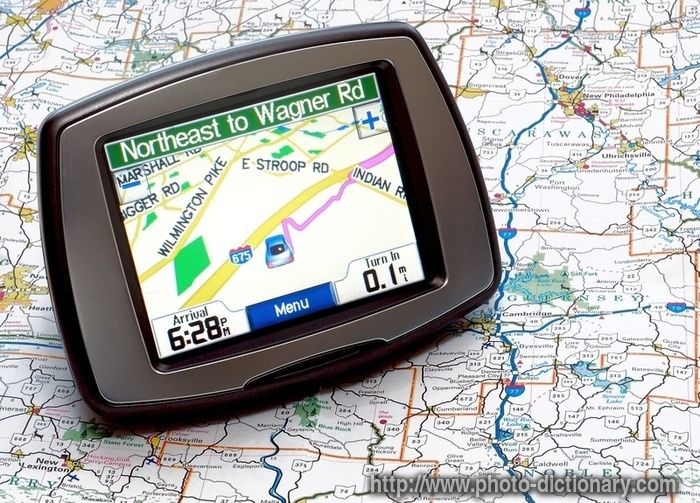 gps - photo/picture definition at Photo Dictionary