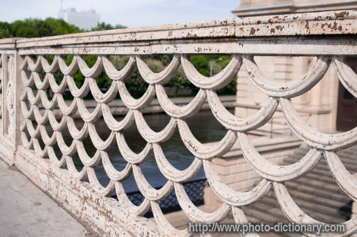 bridge lattice photo picture definition at photo