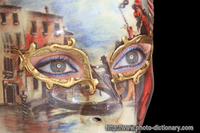 venetian mask photo picture definition at photo dictionary