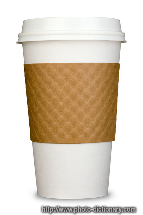 paper coffee cup photopicture definition at photo