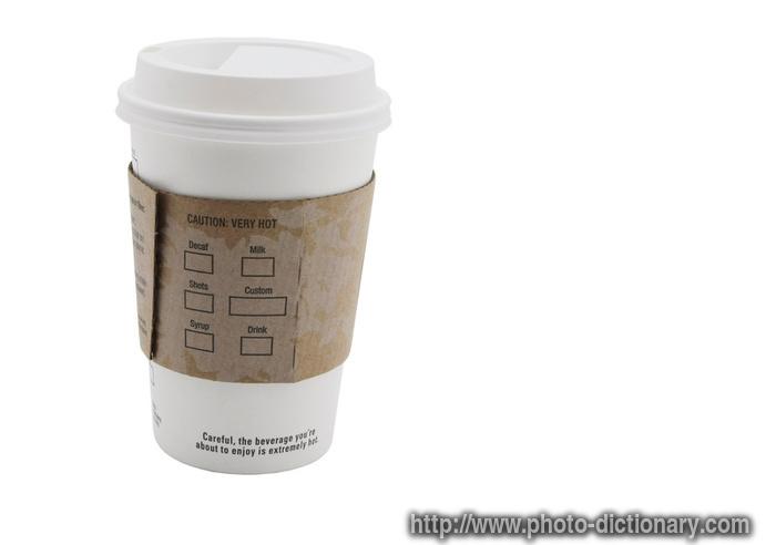 Paper coffee cups   Makeup