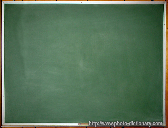 Http Www Photo Dictionary Com Phrase 461 Chalkboard Html