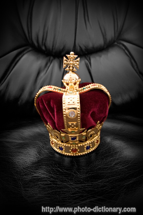 royal crown - photo/picture definition at Photo Dictionary ...