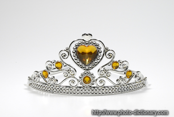 tiara - photo/picture definition at Photo Dictionary ...
