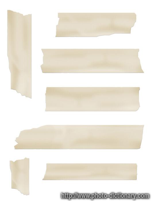 Masking tape vase diy