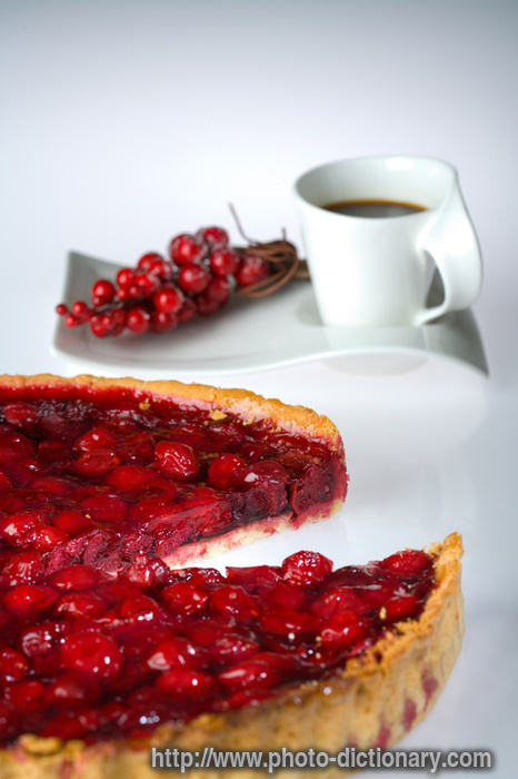 cherry pie. cherry pie - photo/picture