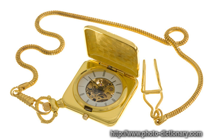 pocket watch photo picture definition at photo