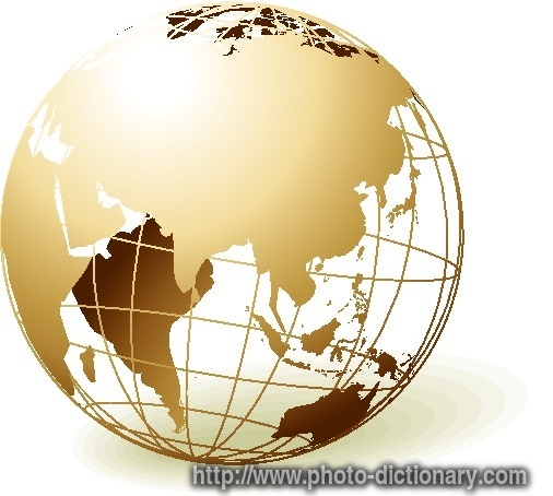 globe photo picture definition at photo dictionary globe word