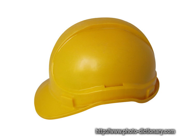 hard hat - photo picture definition at Photo Dictionary - hard hat ... c51af4b5c