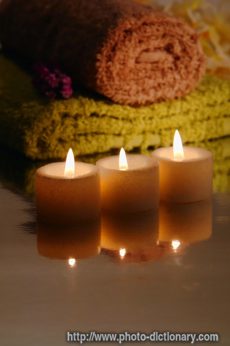 votive candles photo picture definition at photo