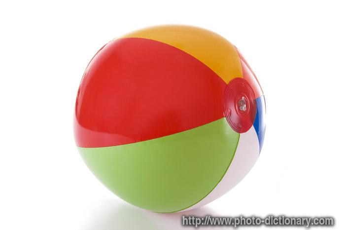 Remplacement officiel 7734beach_ball