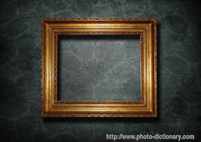 Golden Frame Wallpaper Golden Frame hd Wallpaper