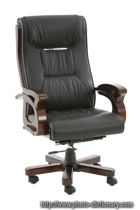 office armchair - photo/picture definition at Photo ...