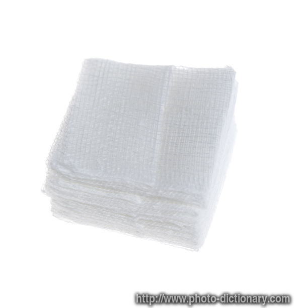 Gauze Fold Photo Picture Definition At Photo Dictionary