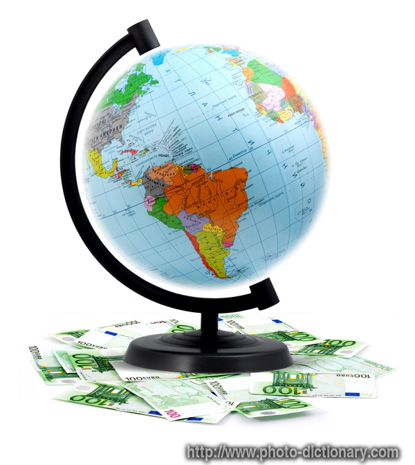 terrestrial globe photo picture definition at photo dictionary