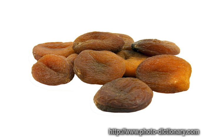 dried appricots - photo/picture definition at Photo Dictionary - dried ...