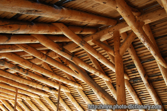 Wooden Roof  Picture Definition At Photo Dictionary