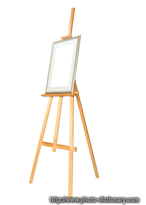 easel photo picture definition at photo dictionary easel word