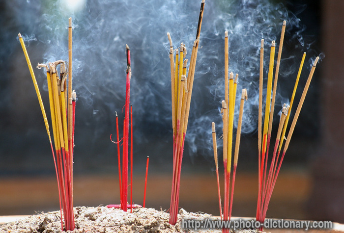 Incense sticks photo picture definition at photo for Lits definition