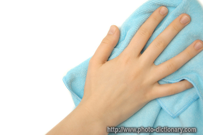 Wiping Photo Picture Definition At Photo Dictionary Wiping