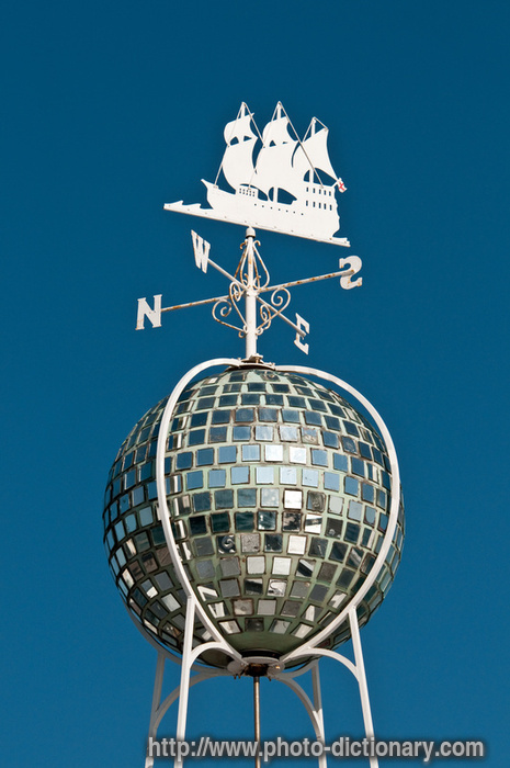 weather vane - photo/picture definition at Photo Dictionary ...