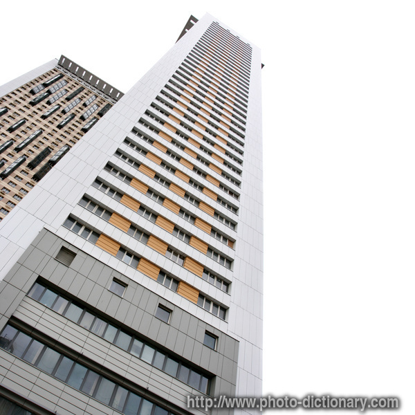 Apartment buildings photo picture definition at photo for Building dictionary