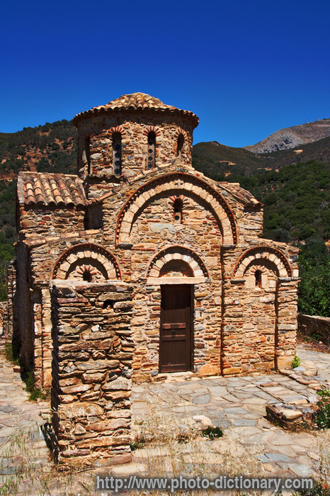 Byzantine church photo picture definition at photo for Architecture byzantine definition
