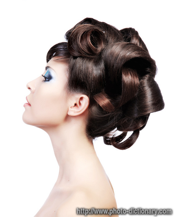 Hairstyle Photopicture Definition At Photo Dictionary Hairstyle