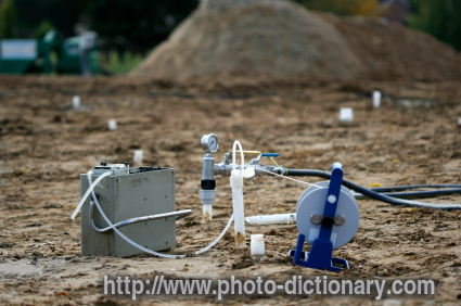 Soil pollution photo picture definition at photo for Soil dictionary
