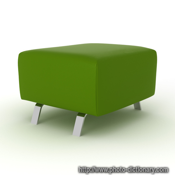 Footstool Photo Picture Definition At Photo Dictionary