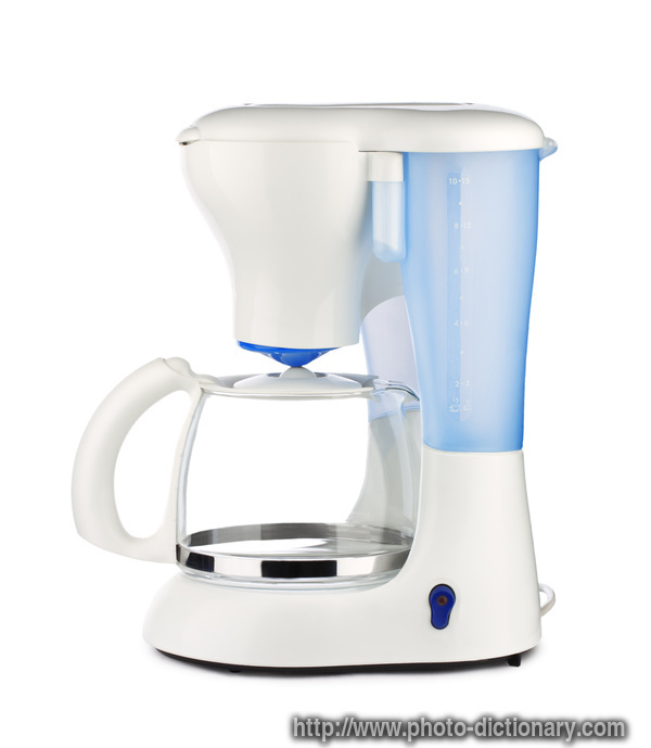 What Is Coffee Maker Definition : coffee maker - photo/picture definition at Photo Dictionary - coffee maker word and phrase ...