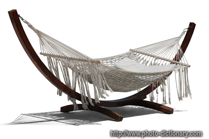 hammock  photopicture definition at Photo Dictionary