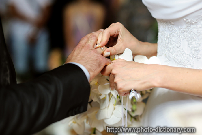 getting married - photo/picture definition at Photo