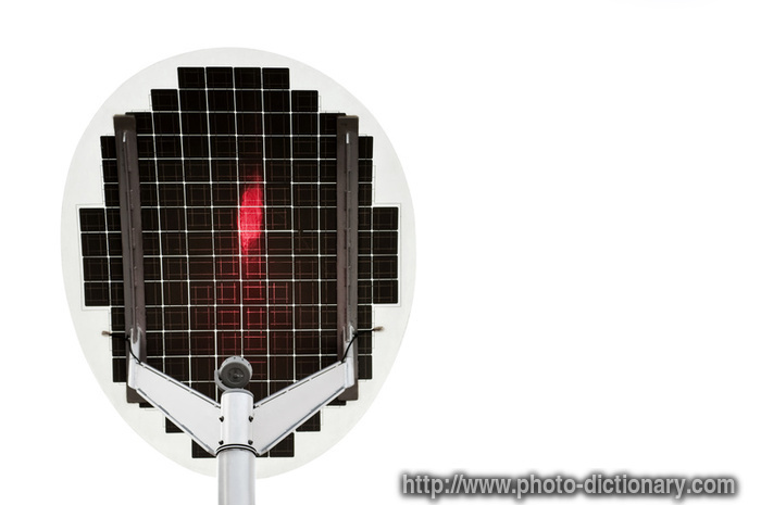 Solar Panel Photo Picture Definition At Photo Dictionary