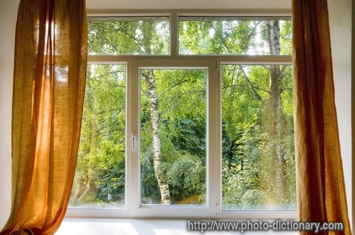 Plastic Window Photo Picture Definition Word And Phrase Image