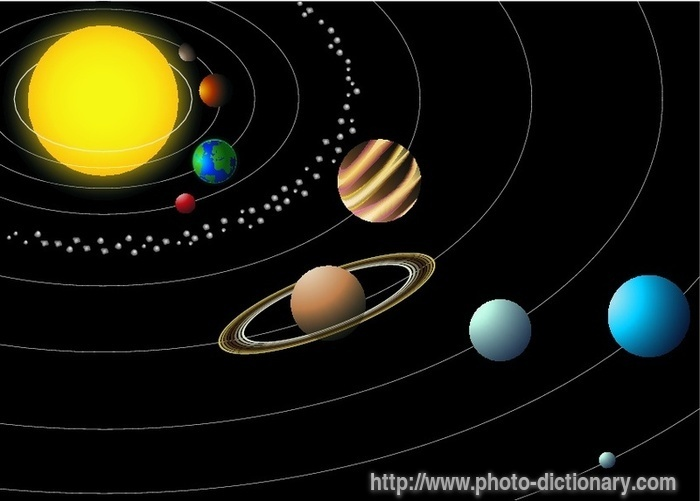 solar system - photo/picture definition at Photo ...