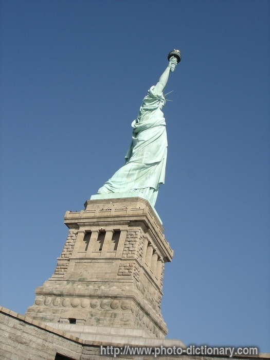 Statue of Liberty - photo/picture definition at Photo Dictionary ...