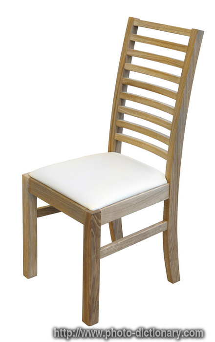 oak chair photo picture definition at Dictionary