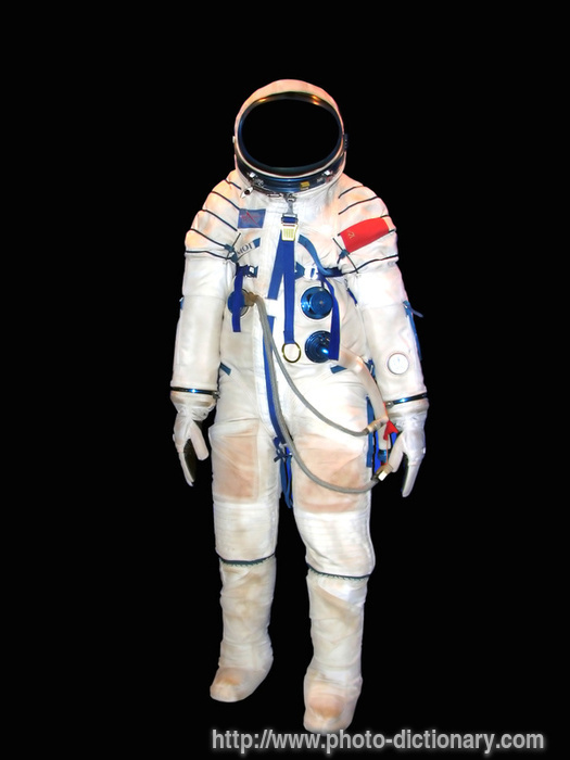 space suit photopicture definition at photo dictionary
