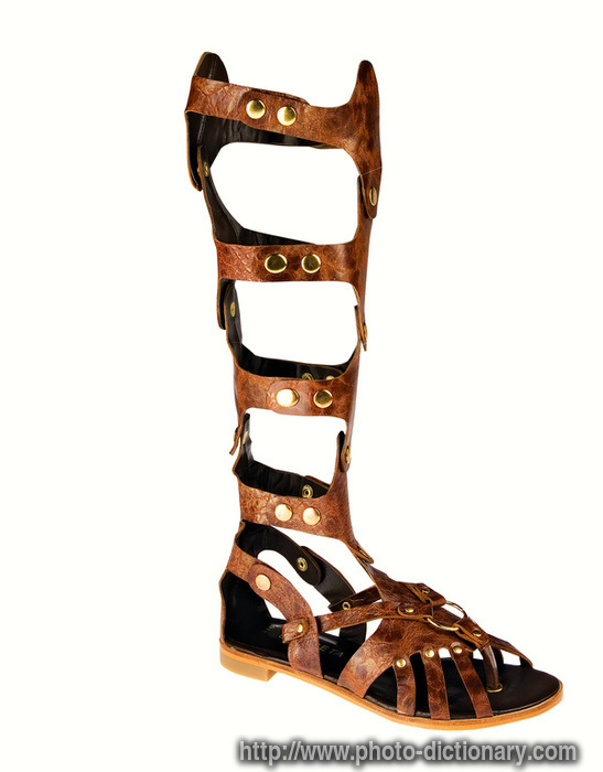 big c stuttgart leather sandals