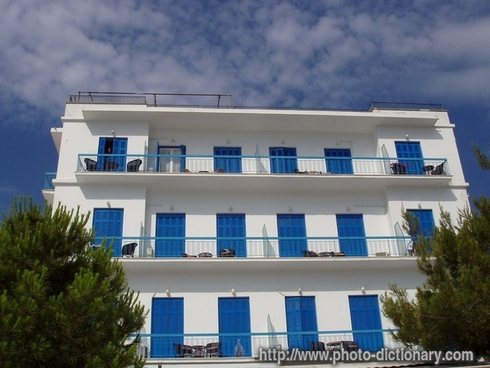 Greek Apartment Building