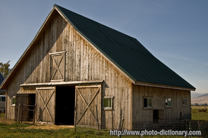 Rustic Barn Photo Picture Definition At Dictionary