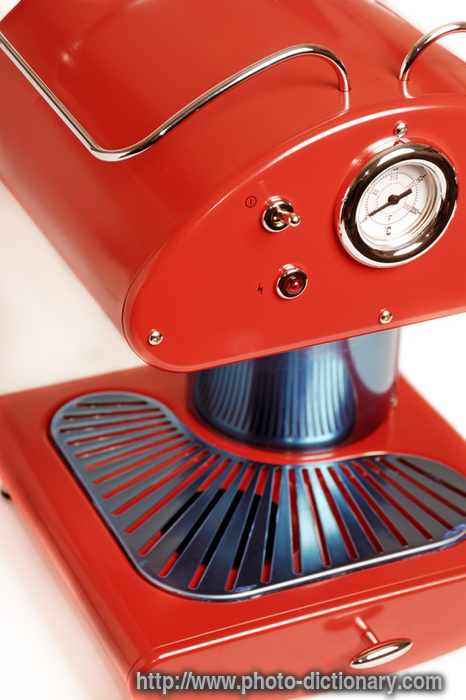 What Is Coffee Maker Definition : espresso coffee maker - photo/picture definition at Photo Dictionary - espresso coffee maker ...