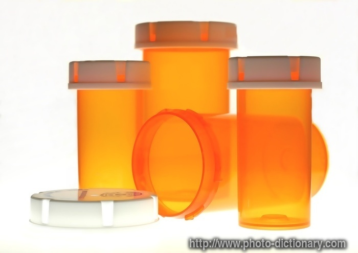 pill bottles - photo/picture definition - pill bottles word and phrase