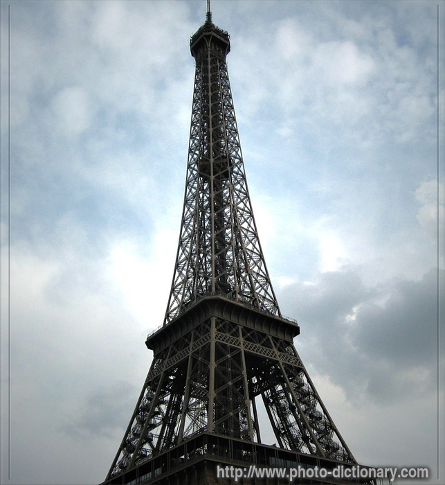 eiffel-tower  picture definition at photo