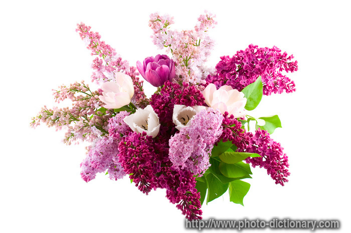 spring bouquet - photo/picture definition at Photo Dictionary ...