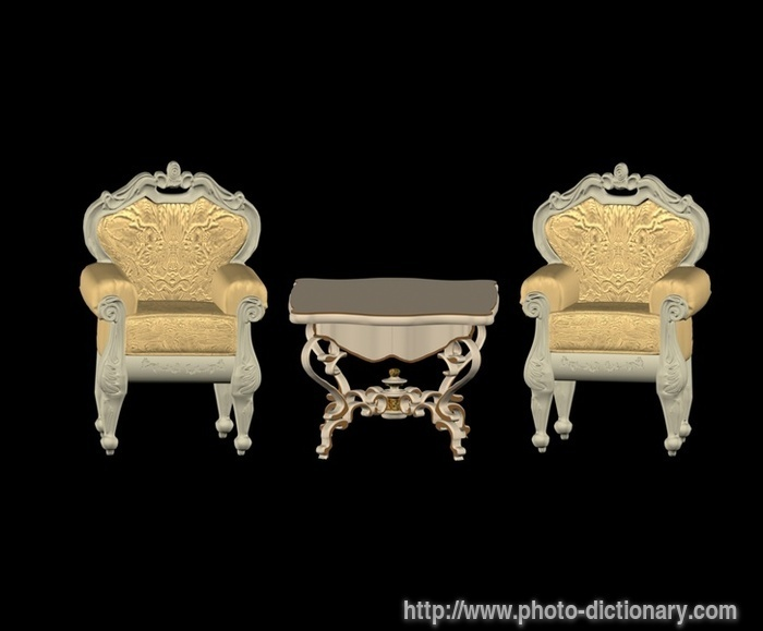Furniture photo picture definition at photo dictionary for Furniture definition