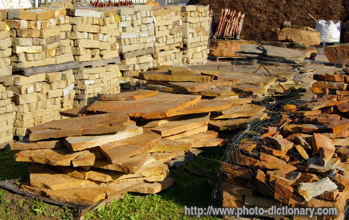 Landscaping Material Photo Picture Definition At Photo