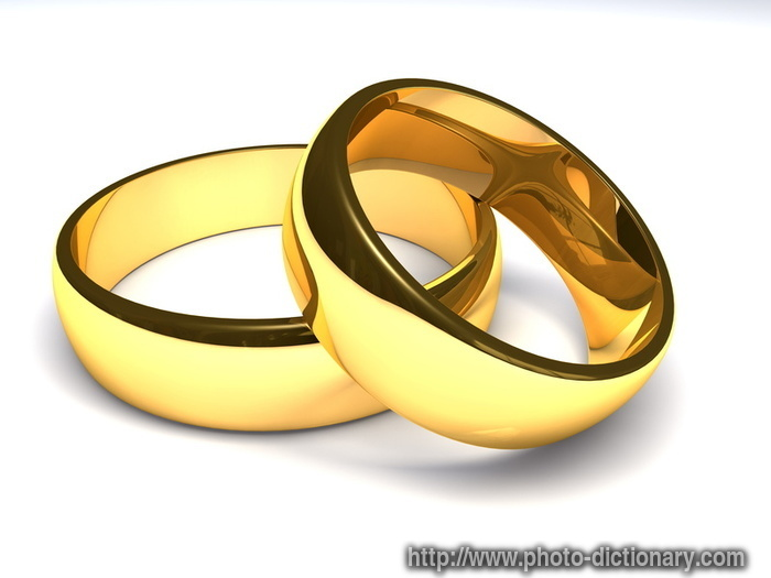 golden rings - photo/picture definition at Photo Dictionary ...